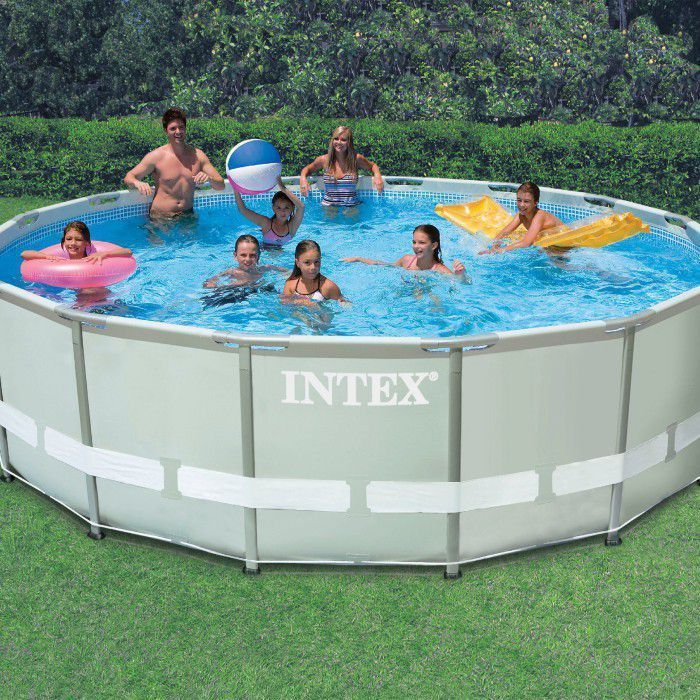 Pool Frame Rund Intex Ultra Metal Frame Round Metal Pool 16ft X 48