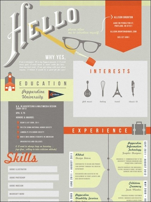 28 Amazing Resume Designs That Will Work For You!