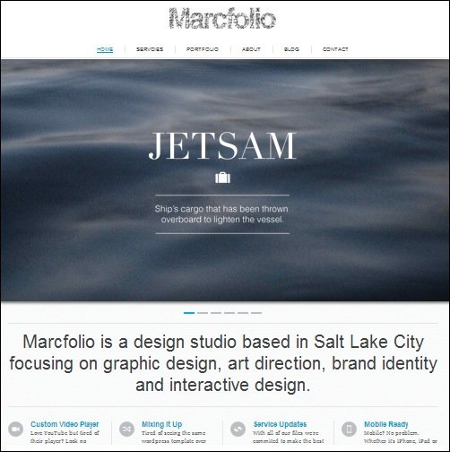 25+ High Quality HTML Website Templates - interactive website template
