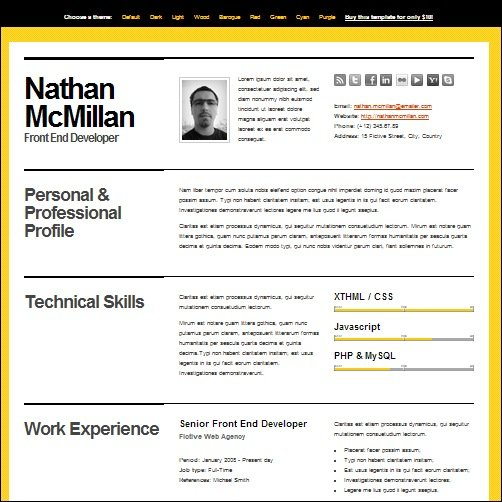 35+ Best CV and Résumé Templates - What Is The Best Resume Template To Use
