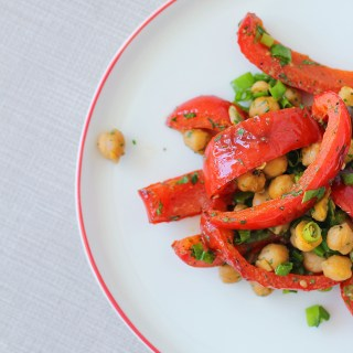 Easy breezy summer salad: Avoca roasted peppers and chickpeas