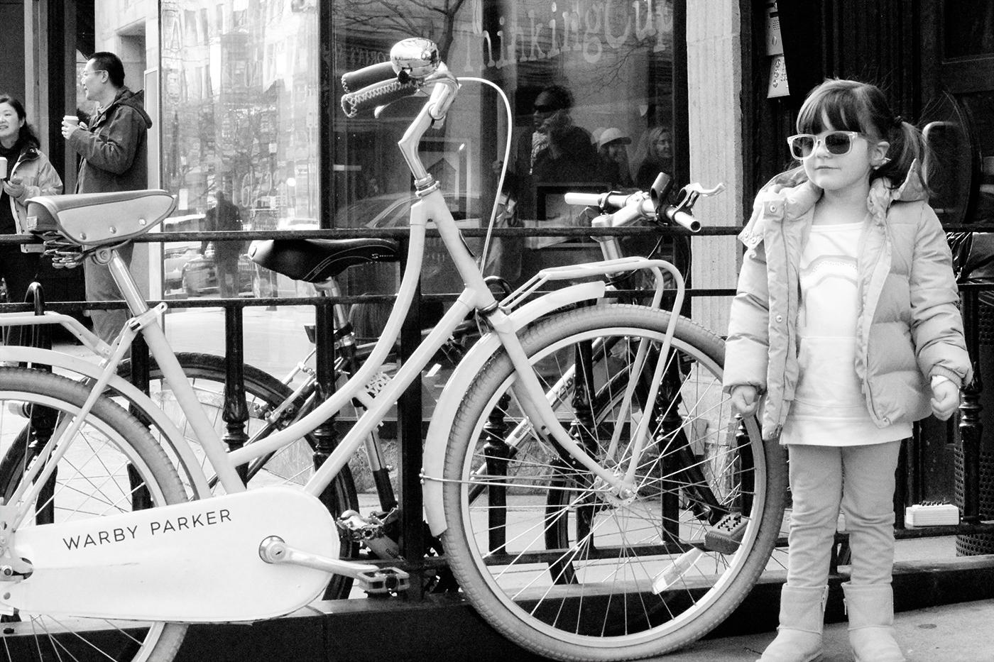 girl bike photo