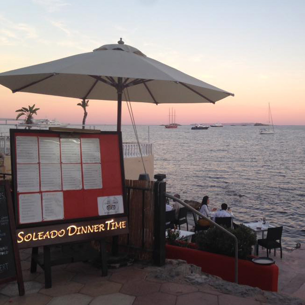 Nouveau menu au Soleado d'Ibiza