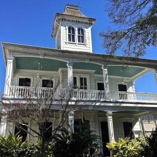 """Haint Blue"" ceilings, New Orleans porches…."