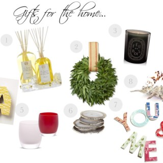 Glorious gifts for the home