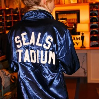 That Satin jacket at Ebbets…