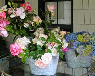 English garden bouquets…