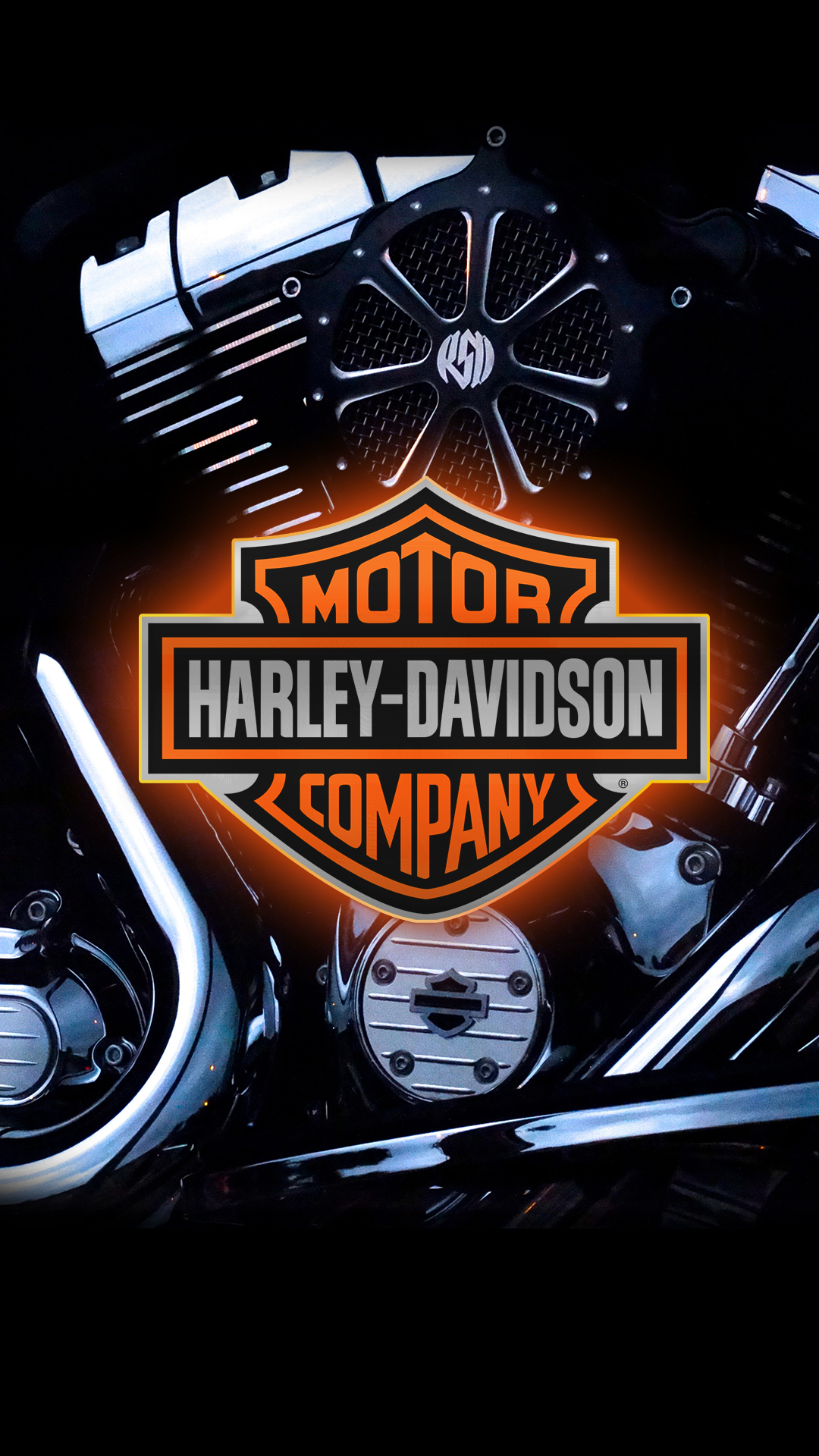 Free Hd Live Wallpapers For Android Phones Harley Davidson 1080 X 1920 Hd Wallpaper