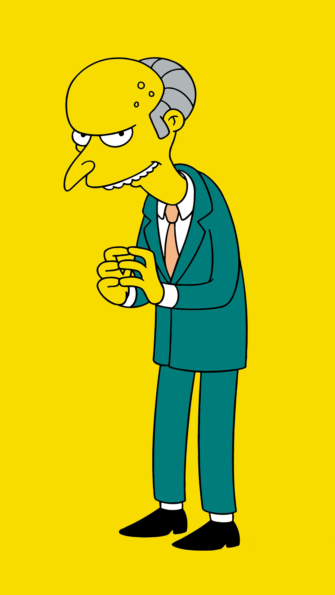 The Simpsons Iphone Wallpaper Mr Burns Hd Wallpaper For Your Mobile Phone