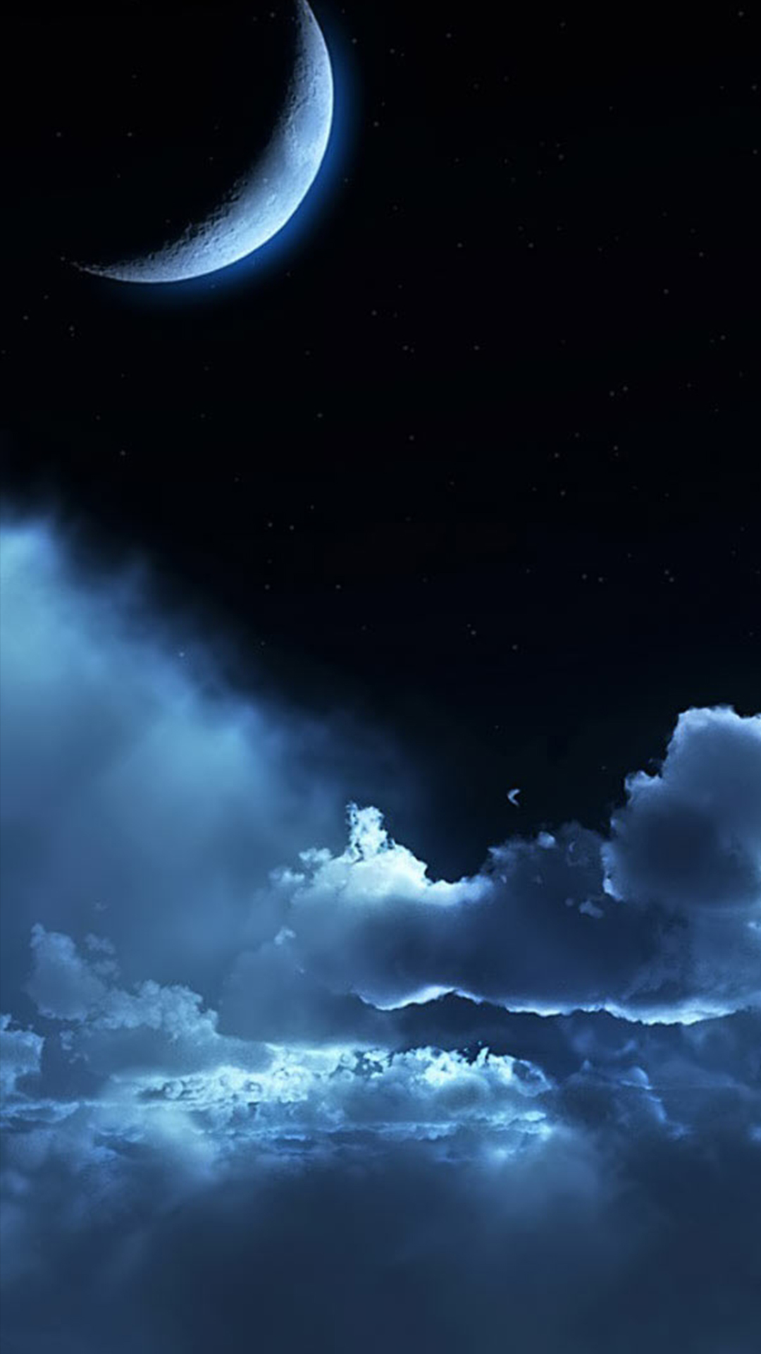 Wallpaper 3d Samsung Galaxy S4 Night Sky Hd Wallpaper For Your Mobile Phone