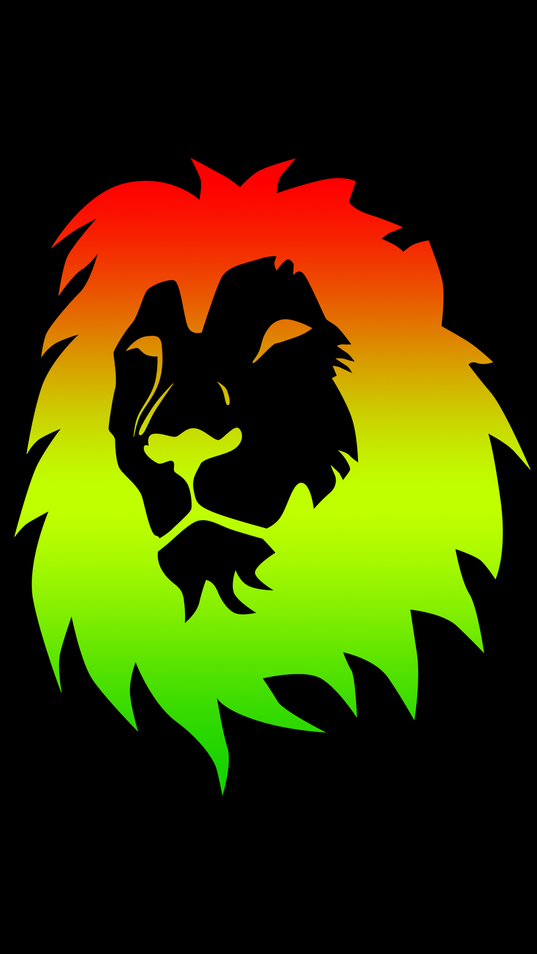 Trending Wallpapers For Iphone X Rasta Color Lion 1080 X 1920 Hd Phone Wallpaper