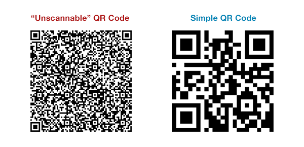Qr Code Comparison - Make a QR Code, the simple way