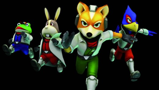 Star Fox official art. Nintendo.