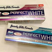 Review: Beverly Hills Formula Perfect White Toothpaste