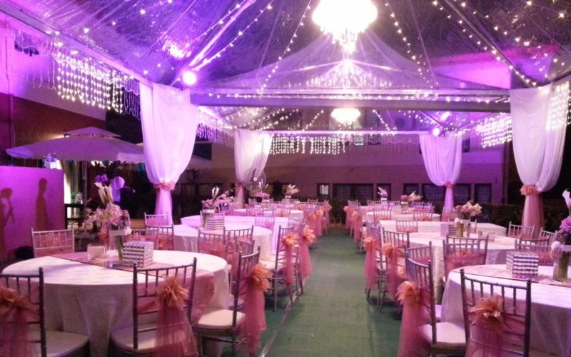 Lampu Cafe Murah Transparent Arabian Canopy Rental Packages & Services