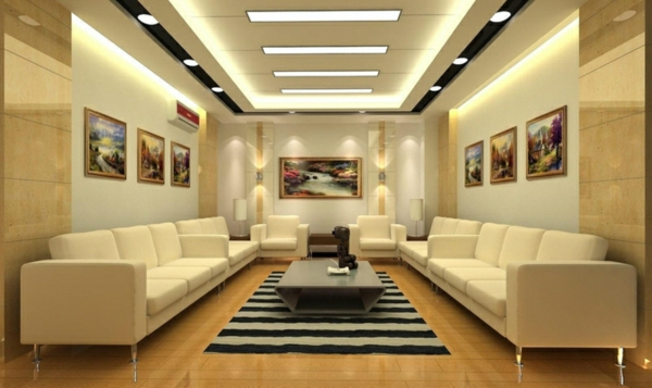 Home Lighting Bukit Puchong Modern Plaster Ceiling Design & Installation Services In