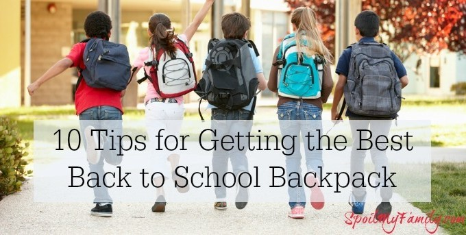Find the very best tips and tricks for getting your child the perfect back to school backpack. #backtoschoolbackpack