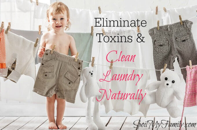 Traditional laundry products emit volatile organic compounds, several of which are classified as carcinogens. Want to know how to eliminate them and what to replace them with? www.spoilmyfamily.com