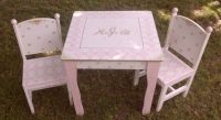 Toy Chest Childs Table Chair sets Step Stools NURSERY Toy Box
