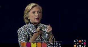 YouTube Image of Hillary Clinton