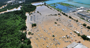 An aerial view of flooding near Baton Rouge/U.S. Department of Agriculture