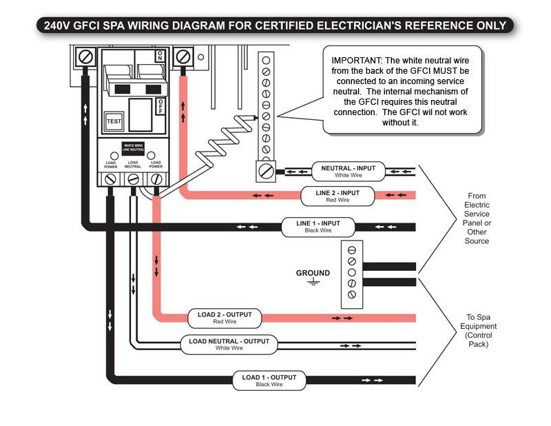 Wire Diagram 240v Hot Tub - Wwwcaseistore \u2022