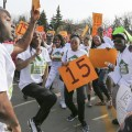 Demonstrators marched in Minneapolis April 15, 2015, in hopes of increasing the  minimum wage to $15 an hour.