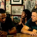 """Anthony Mackey (left) and Casey Affleck star in """"Triple 9."""" (Open Road Films)"""