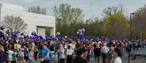 A shot outside of Paisley Park in aftermath of Princes passing.