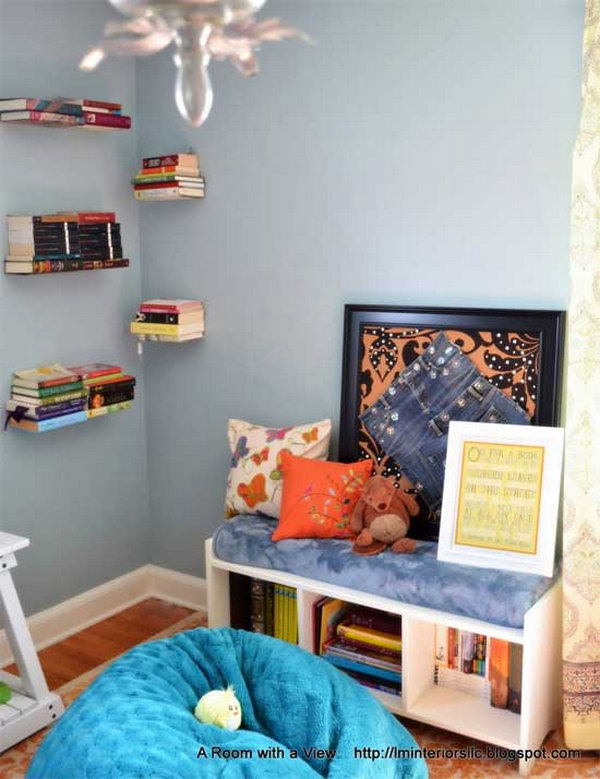 Corner Cabinet Ikea 30+ Creative And Cozy Reading Nooks For Kids