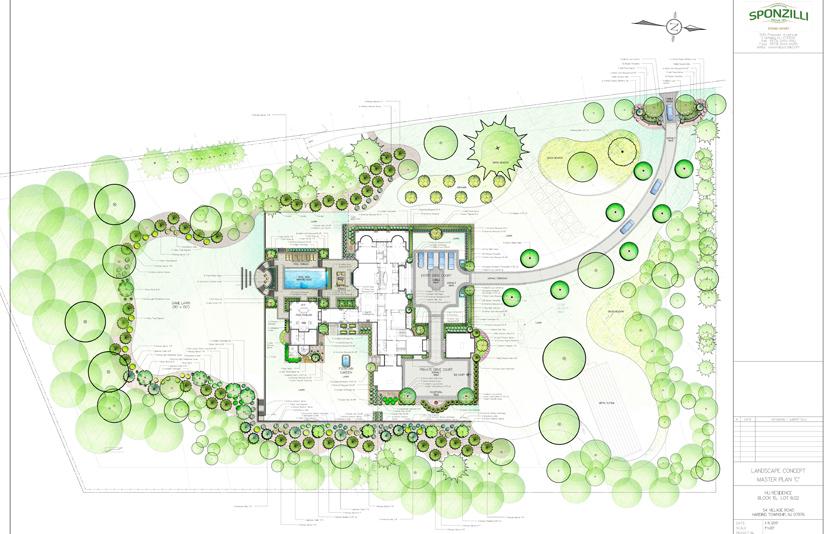 Residential Landscape Design - Sponzilli Landscape Group