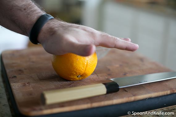Rolling the Oranges to maximize the juice