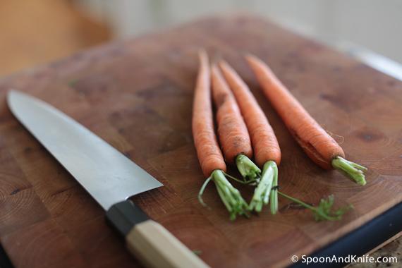 Carrots for Gluten-Free Meatloaf