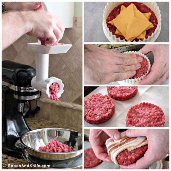 Making Burger Patties - Spoon & Knife