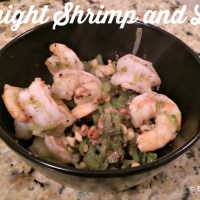 Weeknight Shrimp and Leek Sauté