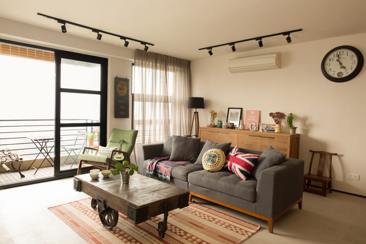 Hong Kong Apartment Interior Industrial Chic Hong Kong Apartment Wylie Court By Chinc