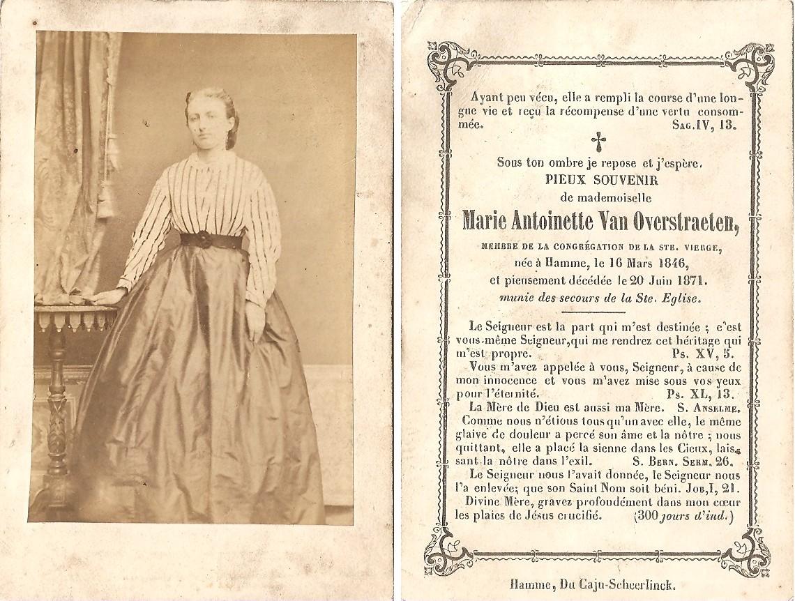 Spoorzoeker blog archive fotografen te hamme in de 19de en begin 20ste eeuw spoorzoeker - Stijl van marie antoinette ...