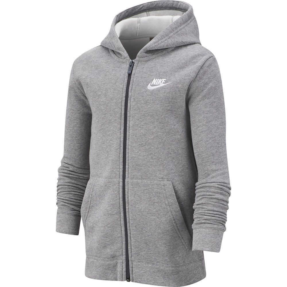 Nike Fleece Kinder Nike Core Tracksuit Kids Carbon Heather Dark Grey