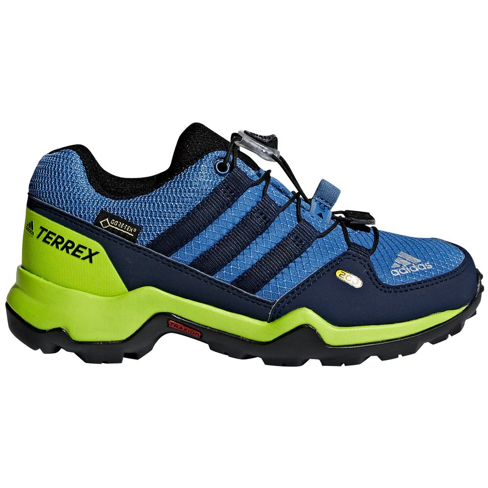 Adidas Terrex Gtx Outdoor Shoes Kids Trace Royal Collegiate Navy Soler Slime At Sport Bittl Shop