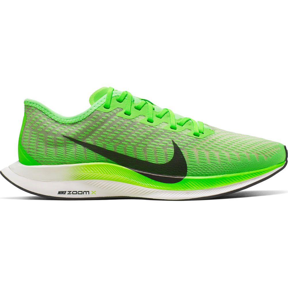Nike Zoom Grey And Green Nike Zoom Pegasus Turbo 2 Running Shoe Men Electric Green Black