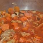 recette simple de Marengo de porc