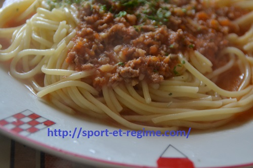 regime spaghettis de l 233 nergie pour les sportifs