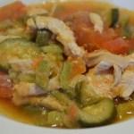 Emincés de poulet à la tomate au cookeo