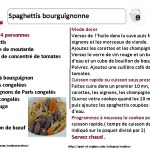 recette cookeo spaghettis bourguignonne la fiche