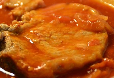 Côtes de porc tomates recette cookeo
