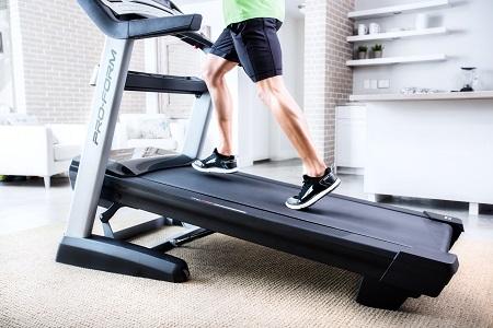 perdre du poids tapis de course proform
