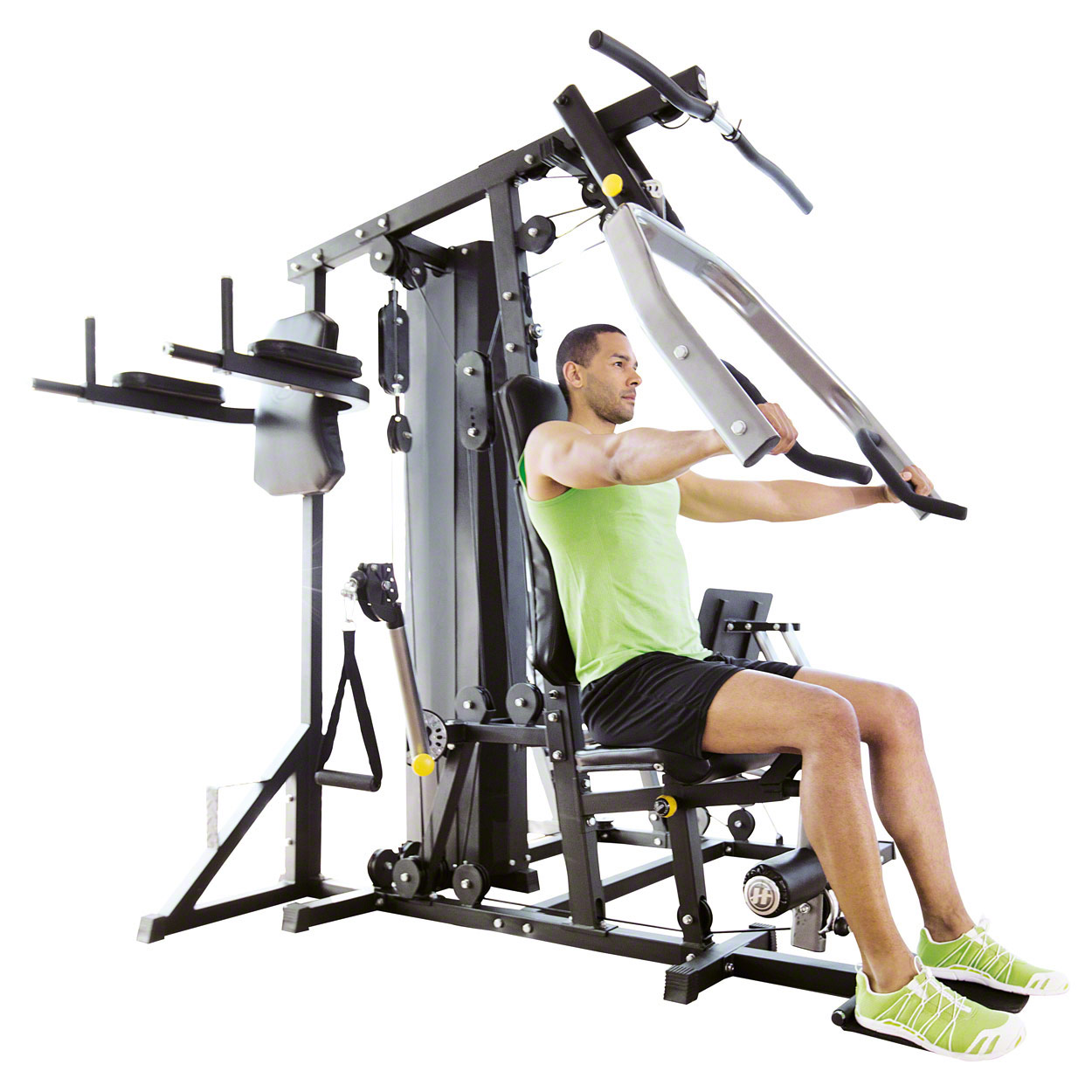 Lattenrost Einstellen 80 Kg Horizon Fitness Kraftstation Torus 5 Homegym Gymstation