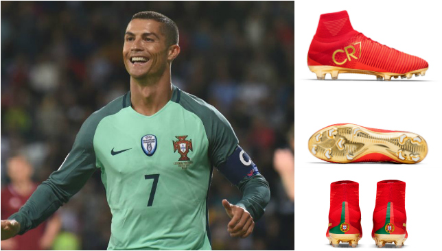 Cristiano Ronaldos New Boots Real Madrid Ace Gets Custom