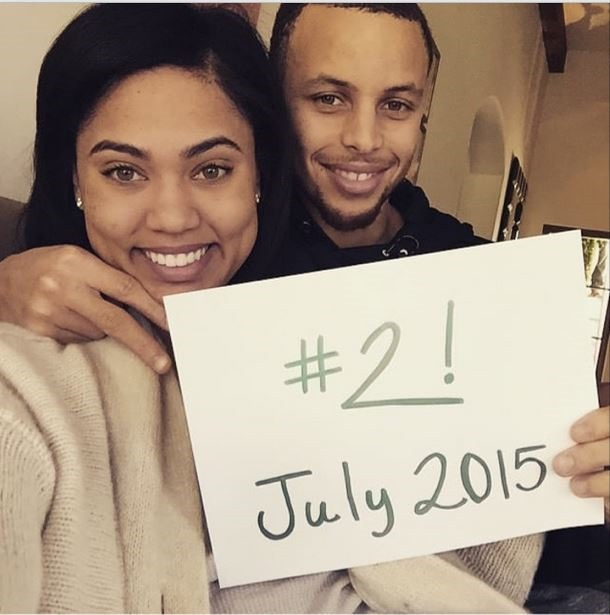 ayesha curry and stephen curry new baby