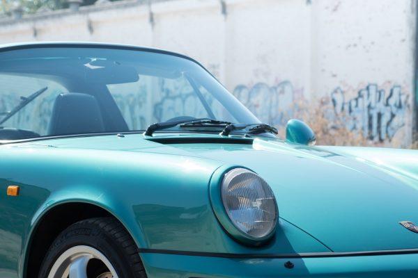 porsche 964 targa carrera 4 winbledon green metallic 1993 SportClasse